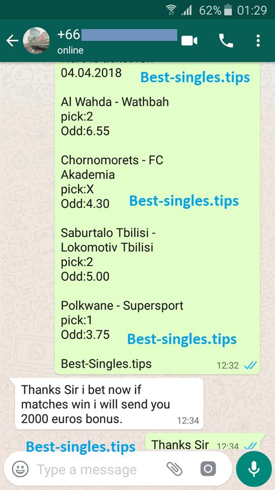 winning fixed match vip values